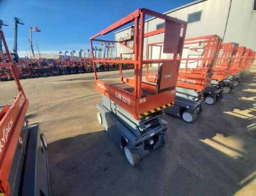 How much does it cost to rent a scissor lift in Cleveland?