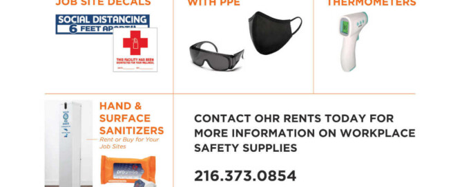 COVID-19 Safety Supplies for your Job Sites