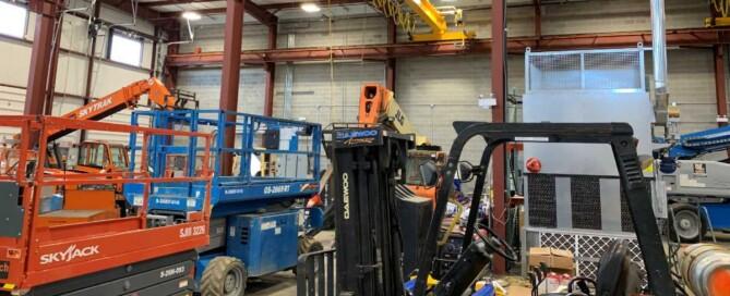 construction equipment repair service